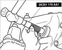 10.5 Замена масляных уплотнительных колец