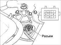 10.14 Датчик температуры автоматической коробки передач