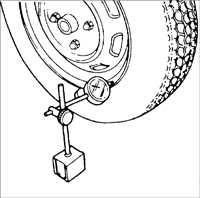 13.4 Биение колес