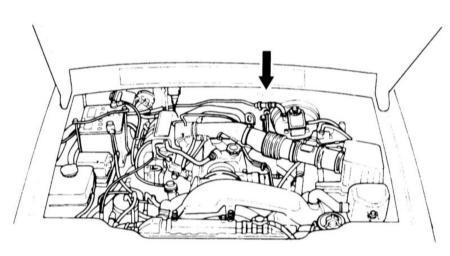 где находится номер двигателя на kia sorento