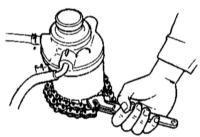 2.21 Проверка системы питания, замена топливного фильтра Kia Sportage