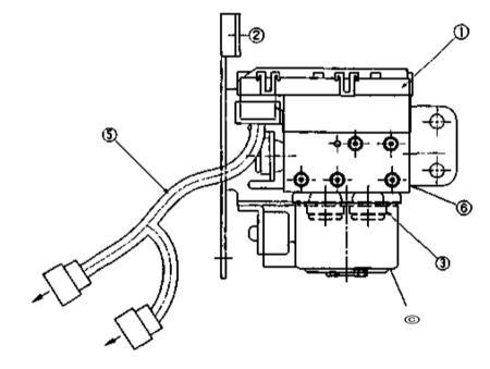 10.16 Снятие и установка гидравлического и электронного блоков управления ABS/EBD