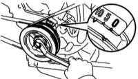4.4 Приведение поршня первого цилиндра в положение верхней мёртвой точки (ВМТ)