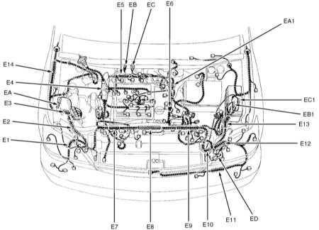 14.0 Принципиальные схемы электрических соединений