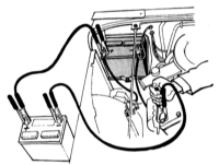 1.6 Запуск двигателя от вспомогательного источника