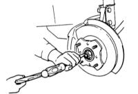 13.7 Снятие и установка тормозного диска