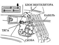 16.5  Регулировка приводов отопителя