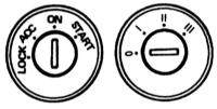 17.19   Рулевое колесо и переключение передач