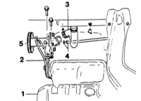 4.6 Снятие и установка водяного насоса