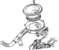 6.6 Снятие и установка воздушного фильтра