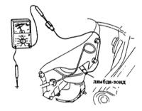 8.4  Проверка/снятие и установка лямбда-зонда