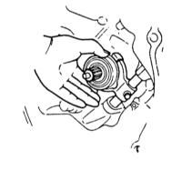 9.2  Снятие и установка/проверка выжимного подшипника сцепления
