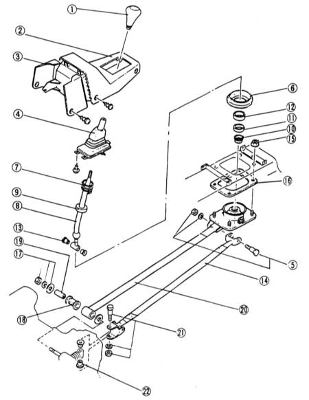 10.2  Механизм переключения передач