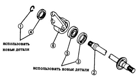12.8 Снятие и установка промежуточного вала