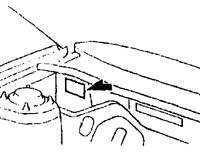 1.3 Информационные таблички автомобиля