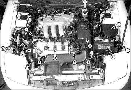 2.2 График технического обслуживания Ford Probe, Mazda 626 и MX-6