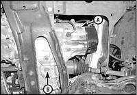2.17 Проверка уровня масла механической коробки передач