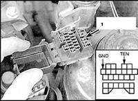 2.22 Проверка и регулировка скорости холостого хода (модели до 1997 г.в.)
