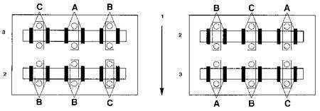 2.31 Проверка и регулировка зазоров клапанов (модели 1998 г. выпуска)