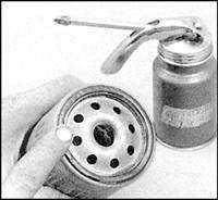 2.8 Замена моторного масла и масляного фильтра Mazda 626