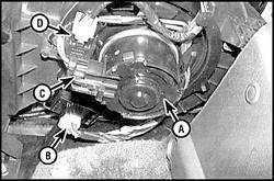 4.9 Электрическая цепь мотора нагнетательного вентилятора