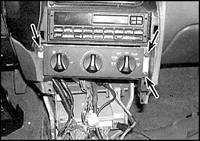 4.11 Блок управления обогревателем и воздушным кондиционером Mazda 626