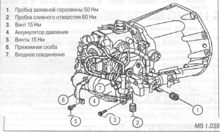 2.2.32 масла в роботизированной коробке переключения передач (РКПП) 716.643