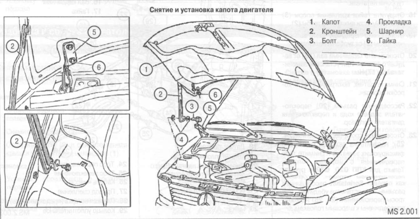 3.2 Снятие и установка двигателя
