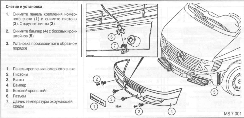 9.2 Передний бампер