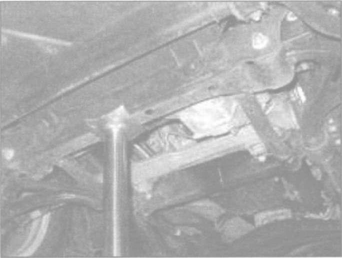 5.0 Точки установки домкрата и лап подъемника