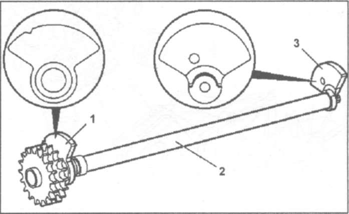 8.8 и установка балансирного вала (112.942)