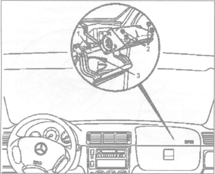 24.6 Снятие и установка подушки безопасности переднего пассажира