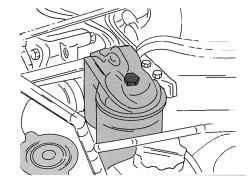 5.5 Снятие и установка топливного фильтра