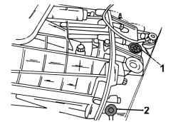 7.3 Проверка уровня масла в коробке передач и замена масла