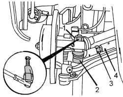 11.2 Замена наконечников рулевых тяг и защитных чехлов