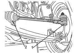 11.3.3 Проверка люфта в шарнирах рулевых тяг