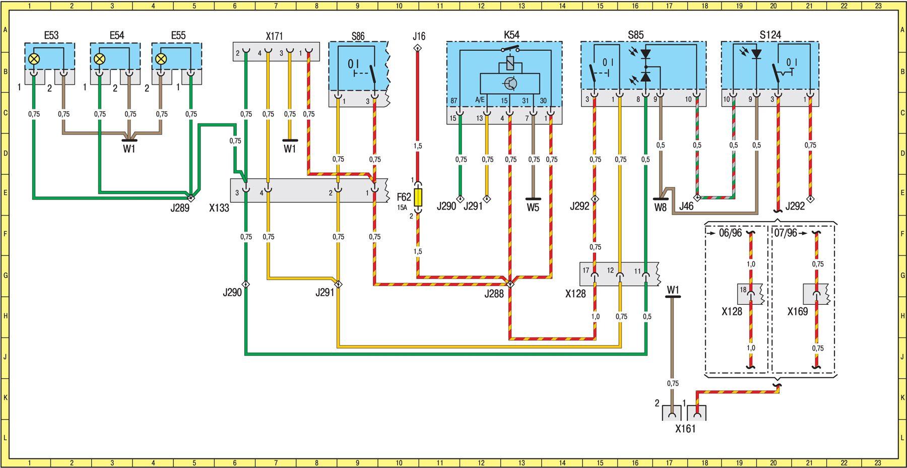 Схема подключения генератора мерседес вито