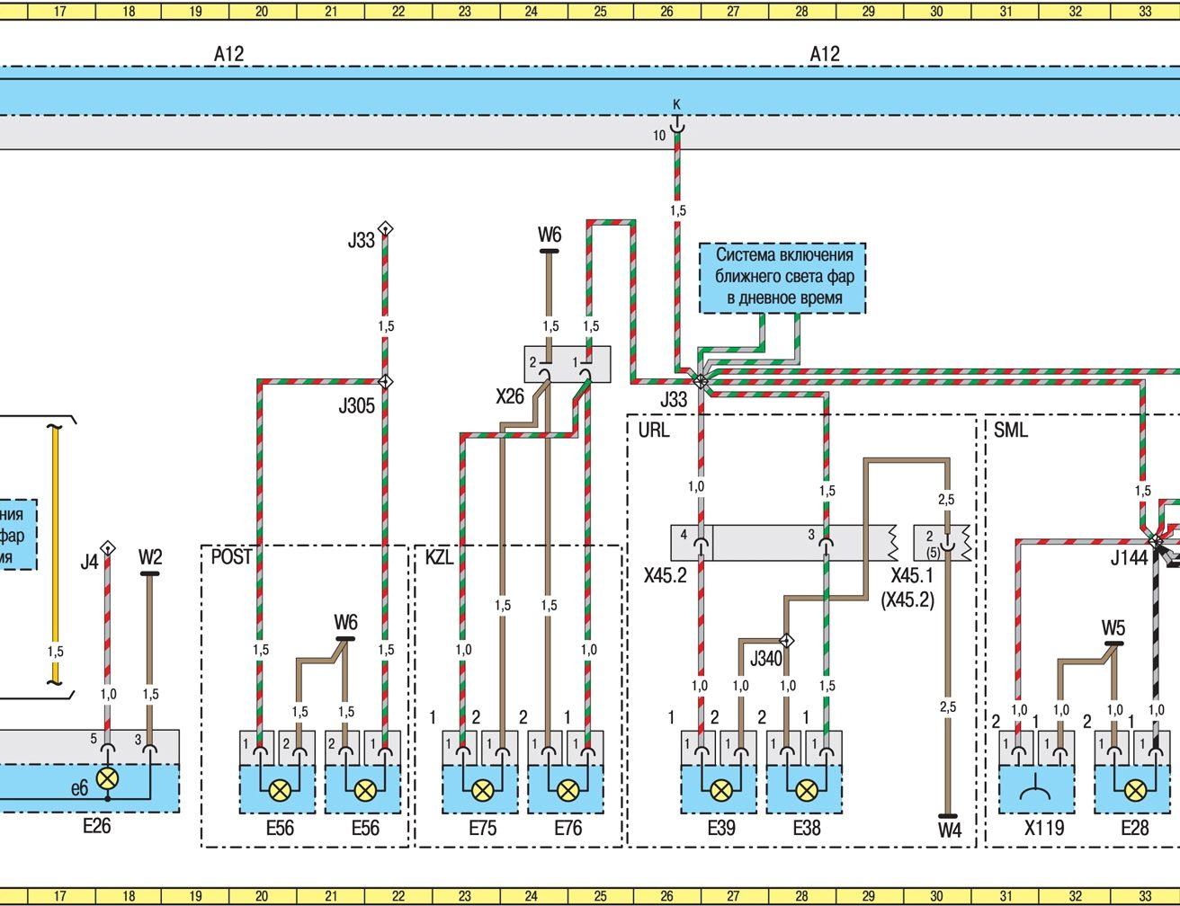 Схема abs mercedes sprinter 906
