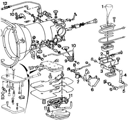 5.2 Снятие и установка автоматической КП