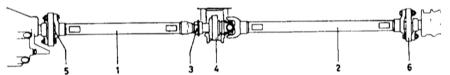 6.0 Карданная передача и задний мост