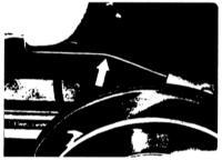 8.2 Снятие и установка заднего стабилизатора поперечной устойчивости Mercedes-Benz W123