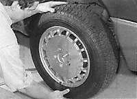 1.45.4 Замена колеса Mercedes-Benz W124