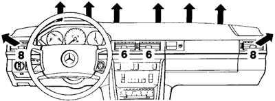 1.10 Автоматическая система кондиционирования воздуха Mercedes-Benz W124