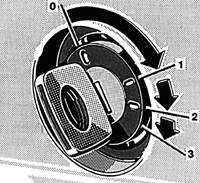 1.25 Блокировка рулевой колонки / замок зажигания