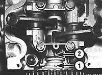 5.5 Верхняя мертвая точка (ВМТ) поршня первого цилиндра Mercedes-Benz W124