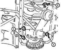 5.14 Масляный насос Mercedes-Benz W124