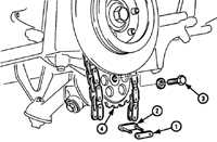 5.15 Замена цепи привода масляного насоса Mercedes-Benz W124