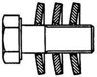 5.7 Шкив коленчатого вала / гаситель крутильных колебаний и   ступицы Mercedes-Benz W124