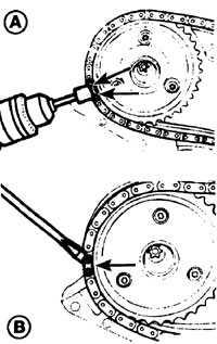 6.9 Проверка и замена приводной цепи