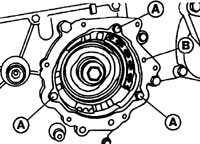 13.10 Механизм регулировки момента впрыска, звездочка топливного насоса
